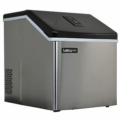 Blemished Luma Comfort IM200SS 28 Pound Clear Portable Ice Maker