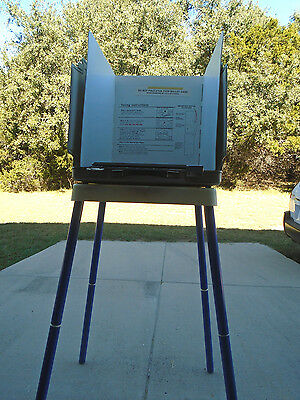George Bush /al Gore Voting Booth From Florida Election