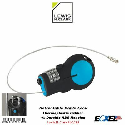Lewis N. Clark #LOC88 Travel Collection Retractable Cable Lock