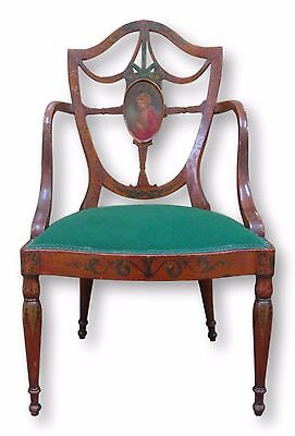 Antique Painted Hepplewhite Chair