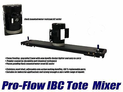 """Pro-Flow Ibc Tote Mixer With 10"""" Folding Impeller"""