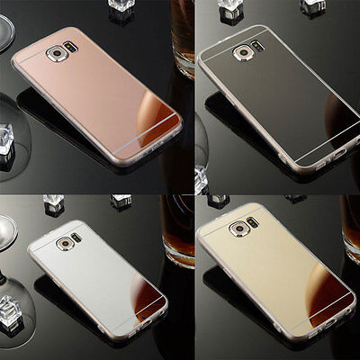 Slim Matte Mirror Silicone Gel TPU Case Cover For Samsung Galaxy S6 S7 Edge +