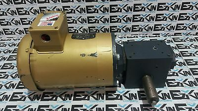 Baldor VEM3538 with gearbox Hub City 184 1/5 USED