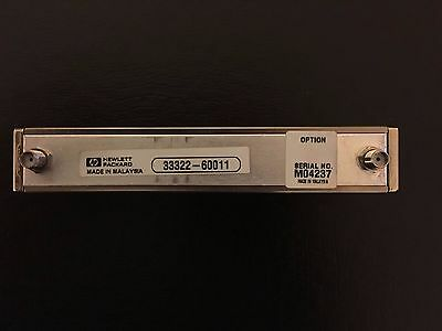 Agilent / HP Step Attenuator Part # 33322-60011