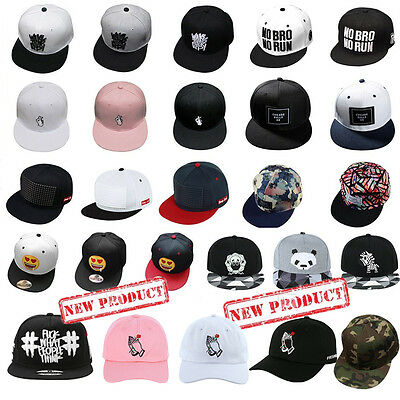 a1703a5c88b Unisex Men Women Bboy Cap Hip Hop Adjustable Baseball Caps Snapback Hat  Fashion