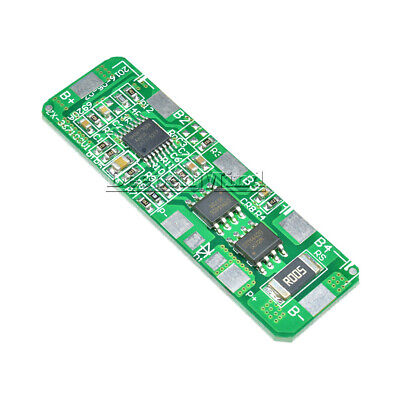lithium Battery Cell 4S PCB BMS Protection Board for 4 Packs 18650 Li-ion 4A 5A