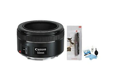 Brand New Canon EF 50mm f/1.8 STM Lens + Cleaning Kit