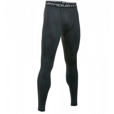 Legging de compression Under Armour Heatgear imprimé noir pour homme