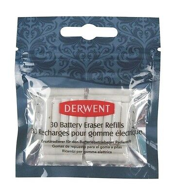 New Derwent Replacement Erasers, Pack, 30 Count Free ship