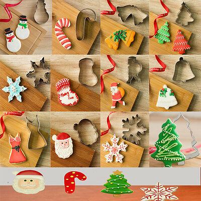 Stainless Steel Cookie Cutter Cake Craft Biscuit Pastry Mold Baking DIY Tools