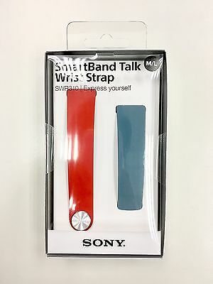 Original SONY SWR310 SmartBand Talk Wrist Strap Watch Band SWR30 Blue Red M/L