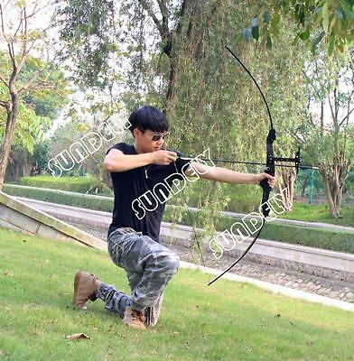 NEW! 30-40lbs Black Compound Bow Left Right Hand Archery Hunting Target Bow