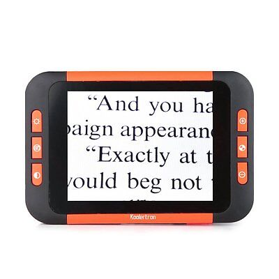 "3.5"" Portable LCD Video Magnifier Color Screen Low Vision Reading Aid Electronic"