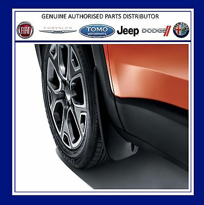 New Genuine Jeep Renegade 2014/- Front Moulded Splash Guards/Mudflaps K82214128
