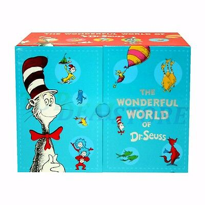 The Wonderful World of Dr Seuss 20 Books Box Set by Dr. Seuss Hardback