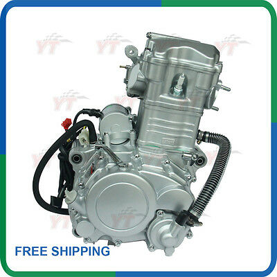 250cc engine,Shineray 250CC water cooled ATV engine with Reverse free engine kit