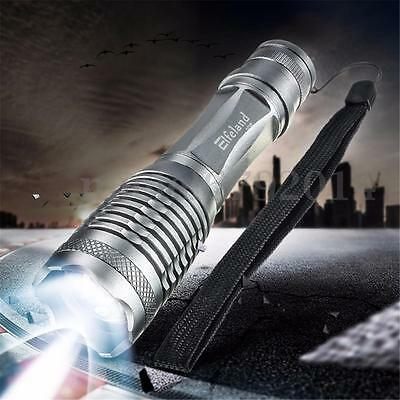 Elfeland 6000LM Flashlight 5 Modes T6 LED Torch Lamp Light Waterproof Zoomable