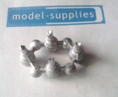 Dinky 359/360 Space 1999 Eagle reproduction white metal engine unit