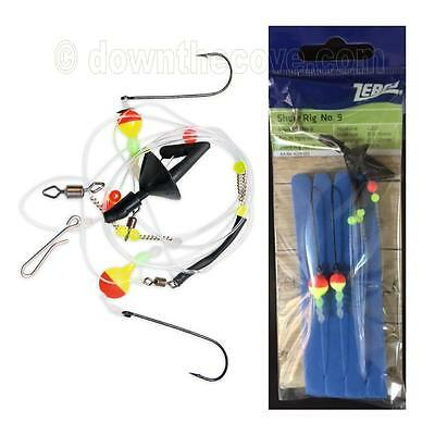 Zebco Magic Shore Rig 9 - Surf Fishing Rig - UV Active Tackle - 1st Class Post
