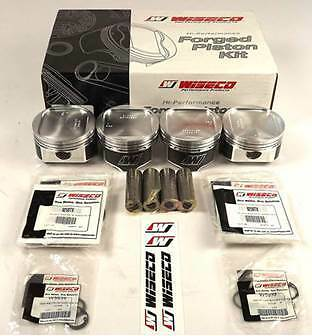 WISECO 92.5mm Forged Pistons and Rings 2.2L Stroker for Subaru Impreza WRX EJ20