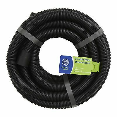 Aqua Systems Grey WATER DIVERTER HOSE Shower Laundry Water Saving Solution 10m