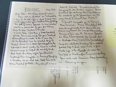 E. Stanley Jones - 1959 Typed Letter Signed and Autograph Letter Signed