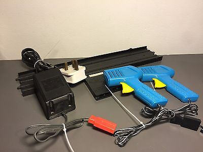 Vintage Ideal Slot Car Power Track & Adaptor And Controllers Bundle Tcr