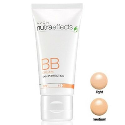 Avon BB Cream With Nutra Effects Skin Perfecting Light And Medium 30 ml  SPF 15