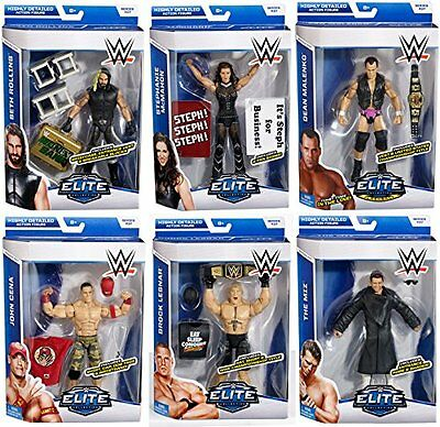 WWE SERIE ELITE 37 wrestling action figure collezione Lottatori Accessori WWF