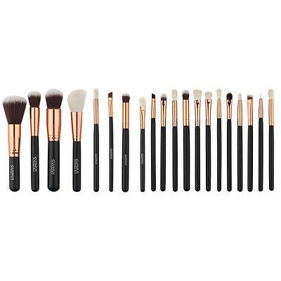 20PCS Pro Makeup Brush Set Powder Foundation Eyeshadow Eyeliner Lip Brushes Tool