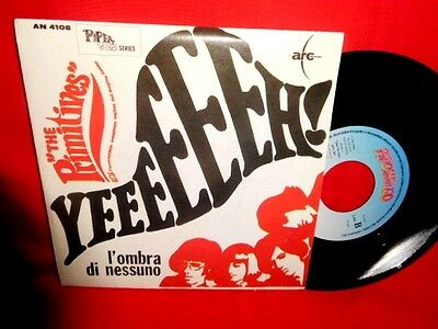THE PRIMITIVES Yeeeeeeh! 45rpm 7' + PS 1967 ITALY BEAT MINT Ristampa