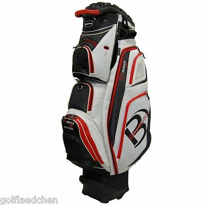 Bennington QO 14 Quiet Organizer Cartbag/ Golfbag - White/Black - NEU - UVP 370€