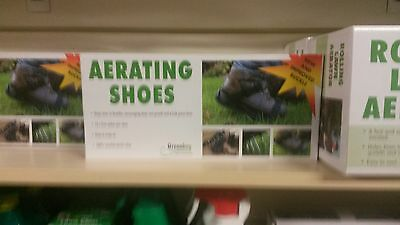 Greenkey Aerating Shoes, Lawn Aerator