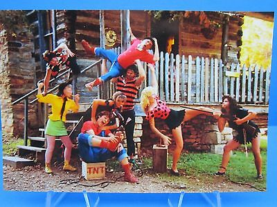 """ The Capp's Characters Dogpatch Usa Amusement Park "" Cool Photo Of Old Postcard"