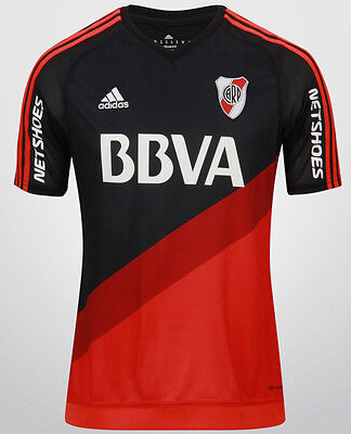 Offre! RIVER PLATE maillot 2015/16 Exterieur*CLIMACOOL* ADIDAS Neuf