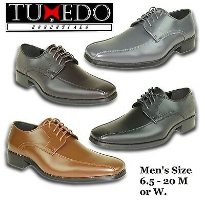 New Mens Dress Shoes Size Classic Oxford Formal Tuxedo Wedding Prom GIFT Sale