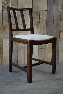 Retro Vintage Solid Wooden Hallway Occasional Chair - Upcycle?