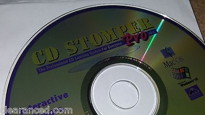 CD Stomper PRO CD / DVD Design Software Templates Clipart Labels Inserts Case
