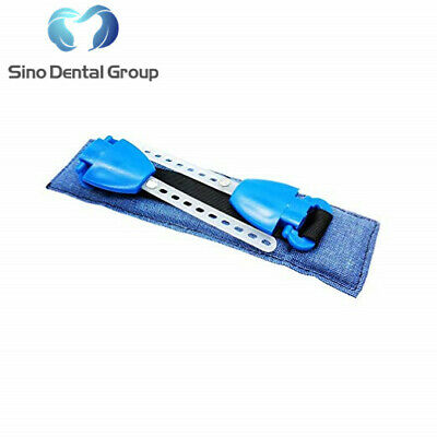 1 X Sino Dental Orthodontic Materials Headgear Face Mask Safety Neck Pad Blue