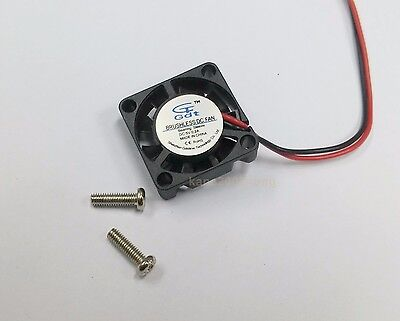 k109a05- 1x 5V Mini Cooling fan 25x25x7mm, suit w/ESC for RC on/off road Car