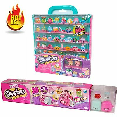 Shopkins Season 5 Mega Pack With Collector's Case Bundle