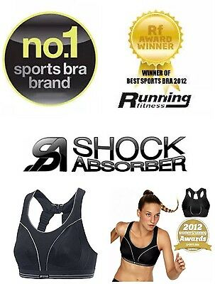 """""""reduced"""" New Dry Action System Shock Absorber Ultimate Run Sports Gym Bra 36G"""