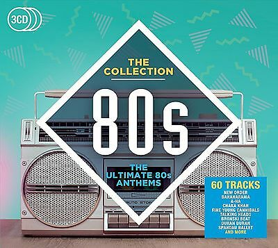 80s : THE COLLECTION (Best Of) 3 CD SET (2016 Music CD Compilation)