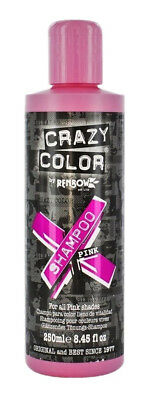 Crazy Color Vibrant Color Shampoo For All Pink Shades 250 ml