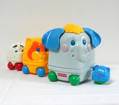 Train d'animaux gigognes Fisher Price