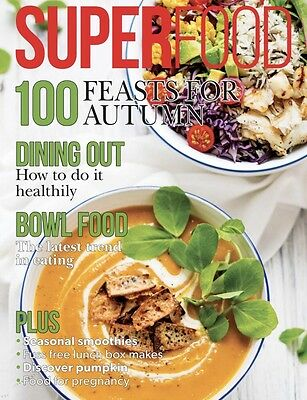 Superfood Magazine Sept/oct 2016 (Brand New Copy)