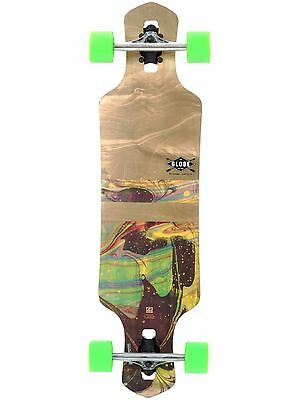Globe Marble Geminon - 35 Inches Drop Through Longboard Complete