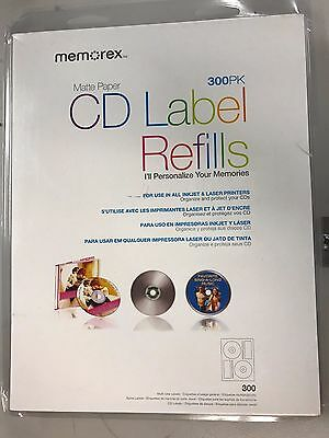 CD Labels 300 pack