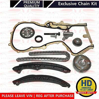 For VW Tiguan Touran 1.4 FSI TSI Timing chain kit tensioner gears VVT pulley