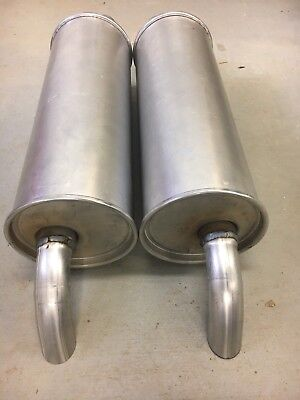 1964-1966 Ford Thunderbird Stock Direct Fit Right and Left Side Dual Muffler Set